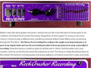 "New Bestguitareffects.com review of ""Rockrec"""