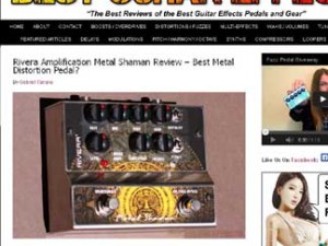 New Metal Shaman review and killer video!