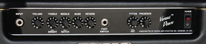 venus duex tone controls