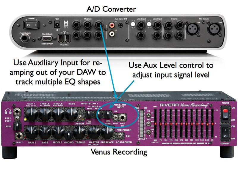 Venus Recording Aux Input